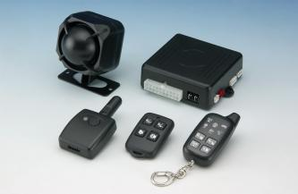 CAR-7050 2 way L.E.D. car alarm system